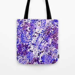 sparkling dots in ultramarine Tote Bag