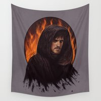 hook Wall Tapestries featuring Darth Hook by Svenja Gosen