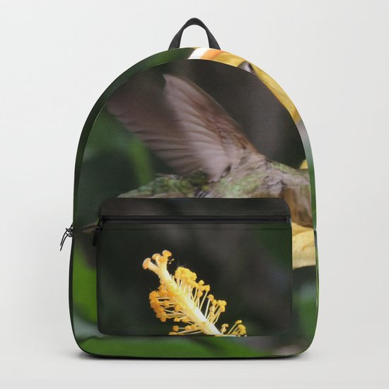 Hibiscus and Visitor Backpack