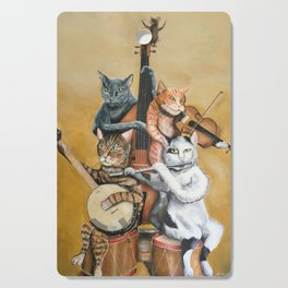 Cat Quartet Cutting Board