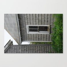 weathered window Canvas Print