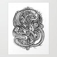 evolution Art Prints featuring Evolution by Irina Vinnik