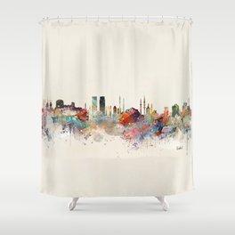 istanbul skyline Shower Curtain
