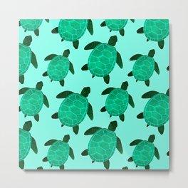 Turtle Totem Metal Print