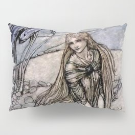 "Arthur Rackham Fairy Art from ""Undine"" Pillow Sham"