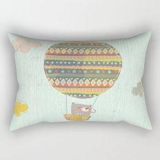 Bear in the air Rectangular Pillow