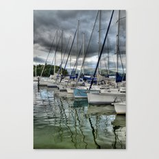 Yachts on Lake Windermere Canvas Print
