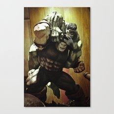 hulk v.s. juggernaut Canvas Print