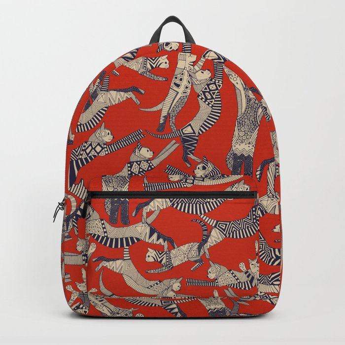 cat party retro Backpack