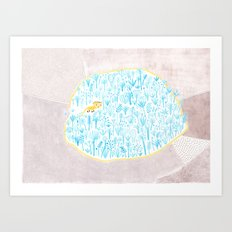 The Enzo's Kingdom Art Print