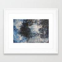 the strokes Framed Art Prints featuring Strokes by Hasan Nisar Basra