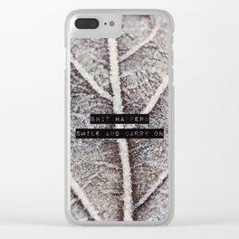 It happens Clear iPhone Case