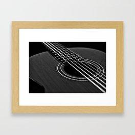 La guitarra Framed Art Print