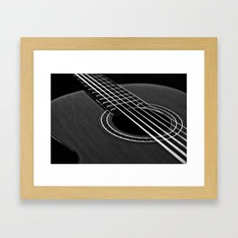 La guitarra Framed Art Print
