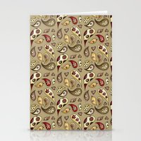 paisley Stationery Cards featuring Paisley by Catru