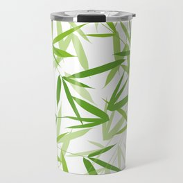 Bamboo Leaves Travel Mug