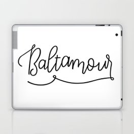 Baltimore, BaltAmour Laptop & iPad Skin