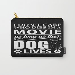 Movie Dog Carry-All Pouch