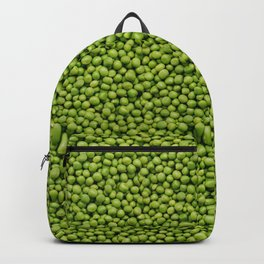 Green Peas Texture No1 Backpack