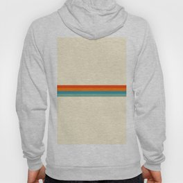 Delanoh - Colorful Abstract Stripes Hoody