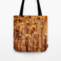 Sunflower Heads in the Winter Sun Tote Bag