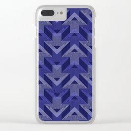 Op Art 99 Clear iPhone Case