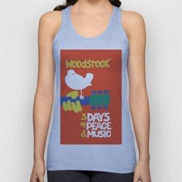Woodstock 1969 Unisex Tanktop