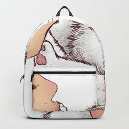 Don't kiss me, human Backpack