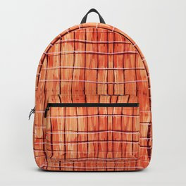 Red Chile Plaid Backpack