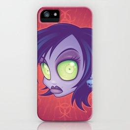 Living Dead Girl iPhone Case