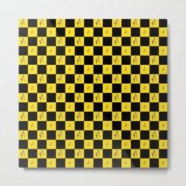 Antonio Brown Twerk Pattern Metal Print