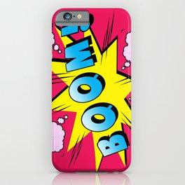 comics boom  iPhone Case