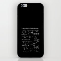 The answer to life, univers, and everything. iPhone & iPod Skin