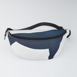 Horse - Two - Dark Blue Fanny Pack