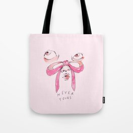 Never Yours Bows Tote Bag