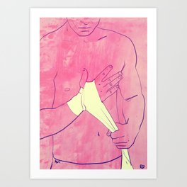 Boxing Club 1 Art Print