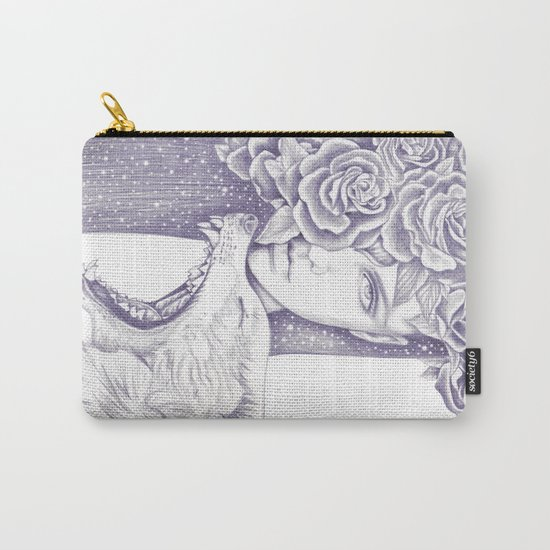 Night Of The Wolf Carry-All Pouch