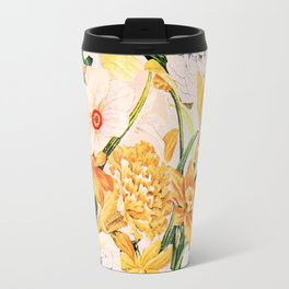 Wordsworth  and daffodils. Travel Mug