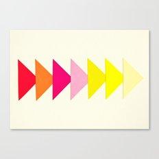 Arrows II Canvas Print