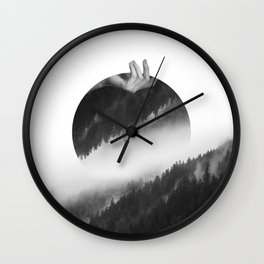 Moving On Wall Clock