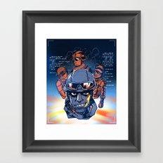 Squad Up Framed Art Print