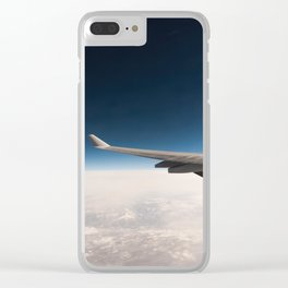 Plane View Clear iPhone Case