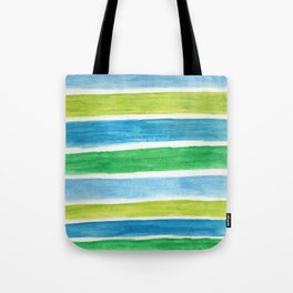 Sea Stripes Tote Bag