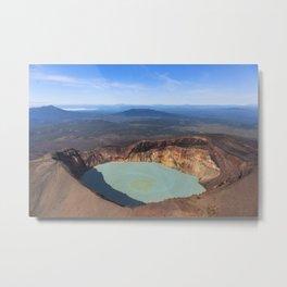 Stratovolcano Maly Semyachik, Kamchatka Metal Print