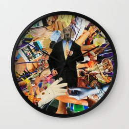 Modern God Wall Clock