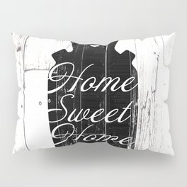 Home Sweet Home Rustic Jug Pillow Sham