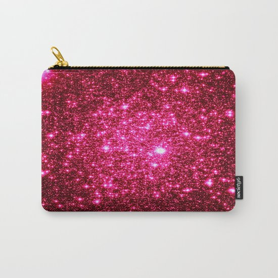 Hot Pink Glitter Galaxy Stars by vintageby2sweet