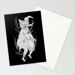 hairy bat Stationery Cards