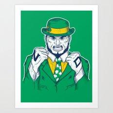 Fighting Irish Art Print