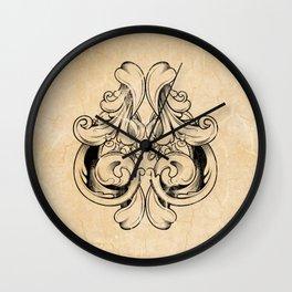 Distressed Spade Wall Clock
